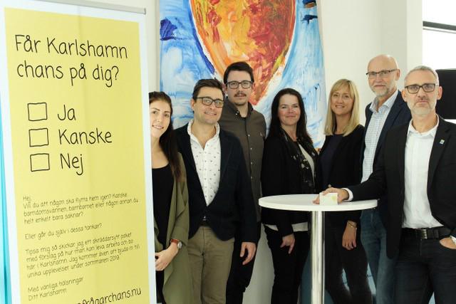 Karlshamn frågar chans