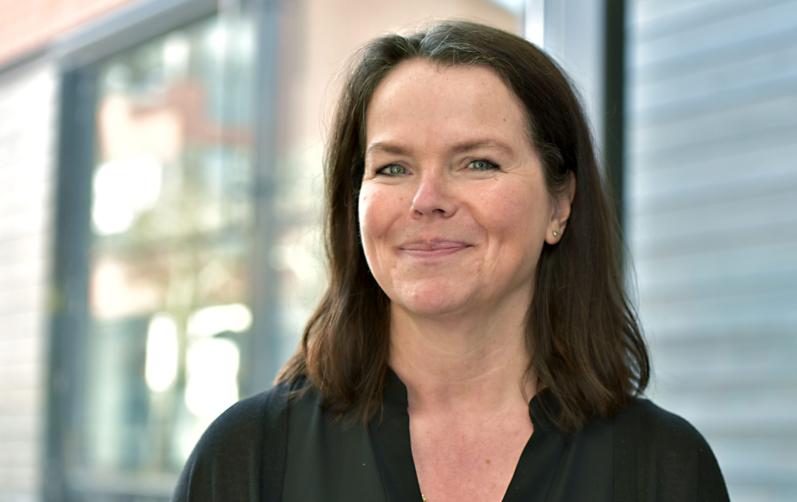 Porträttbild av Annica Hammar, näringslivschef i bild.