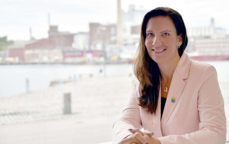 Näringslivschefen Nina Andersson